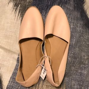 Blush/nude colored flats from Old Navy